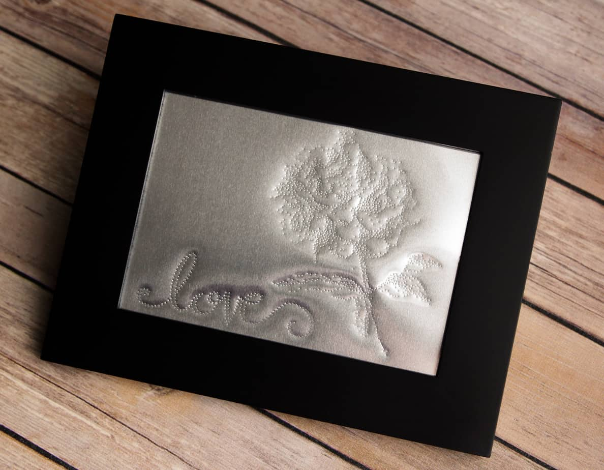 Stippled Metal Art Finding Time To Create